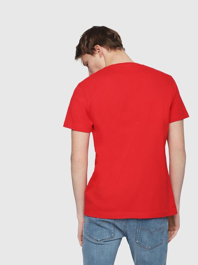 Diesel - T-DIEGO-Y2, Red - T-Shirts - Image 2
