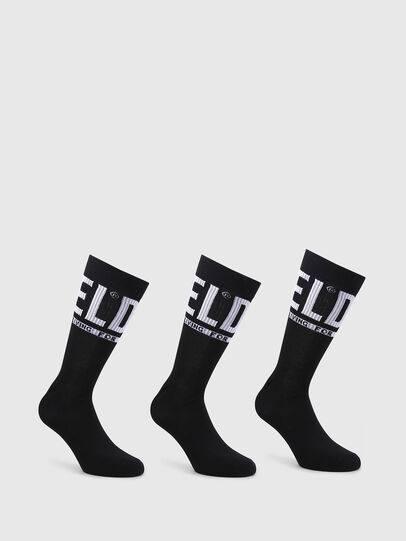 Diesel - SKM-RAY-THREEPACK, Black - Socks - Image 1