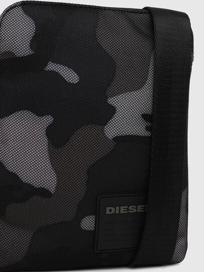 Diesel - F-DISCOVER CROSS, Blue/Grey - Crossbody Bags - Image 5