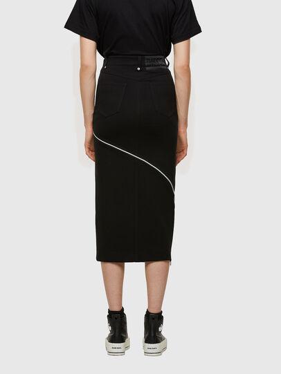 Diesel - O-CROSS, Black - Skirts - Image 2
