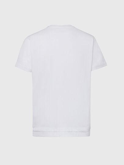 Diesel - T-DIAMANTIK-NEW2, White - T-Shirts - Image 2