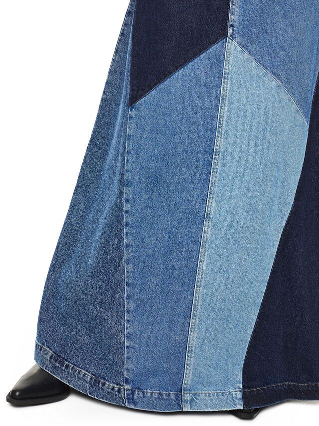 Diesel - DINAP, Blue Jeans - Dresses - Image 4