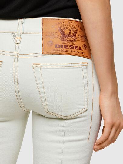 Diesel - D-Ebbey 009ZA, White - Jeans - Image 3