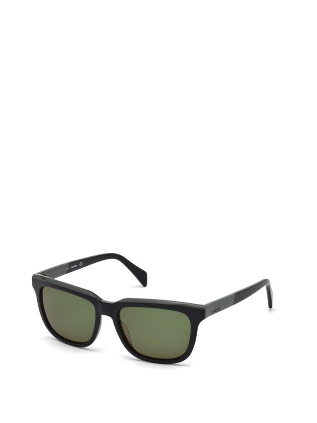 Diesel - DL0224, Green - Sunglasses - Image 4