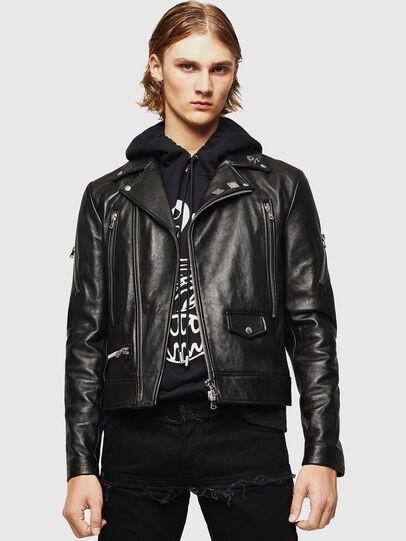 Diesel - L-PERF,  - Leather jackets - Image 1