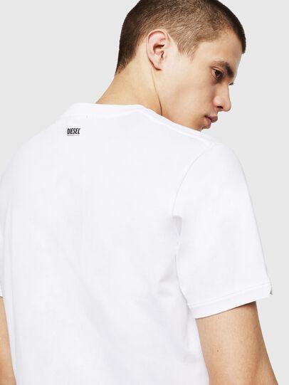 Diesel - T-CHERUBIK-NEW, White - T-Shirts - Image 3