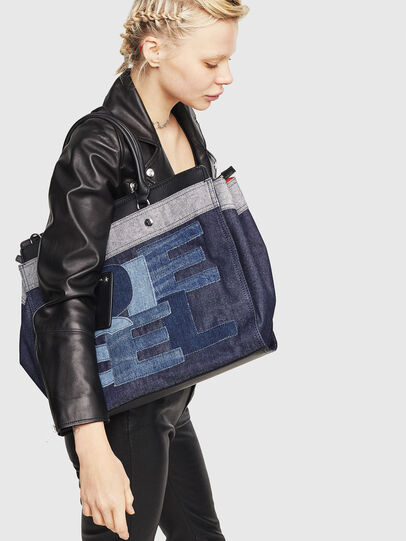 Diesel - F-DESTAR SHOPPER M,  - Shopping and Shoulder Bags - Image 5