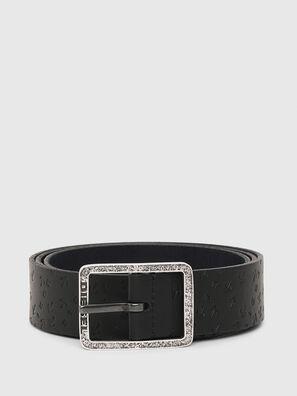 B-REVERSE, Black/Blue - Belts