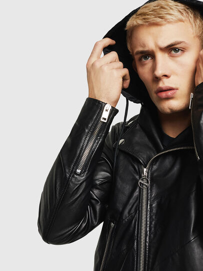 Diesel - L-SOLOVE,  - Leather jackets - Image 5