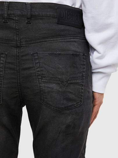 Diesel - KRAILEY JoggJeans® 069QL, Black/Dark grey - Jeans - Image 5