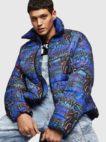 Diesel - W-PIATIG-MONSTER,  - Winter Jackets - Image 4