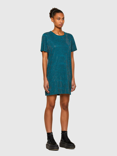 Diesel - D-ARY-E1, Water Green - Dresses - Image 5