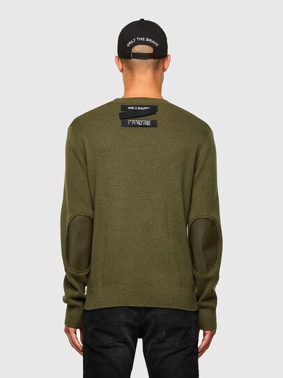 Diesel - K-AARON, Military Green - Knitwear - Image 2
