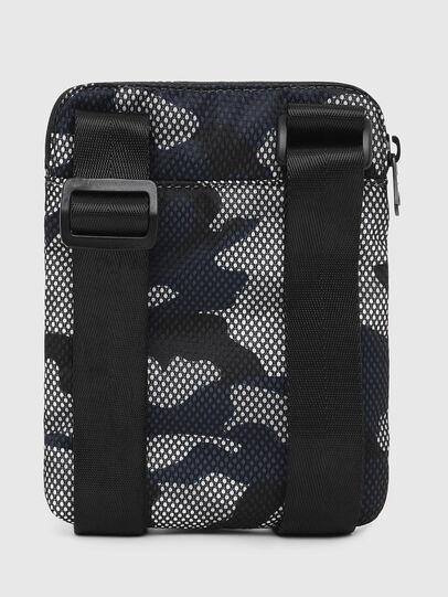 Diesel - F-DISCOVER CROSS, Grey/Blue - Crossbody Bags - Image 2