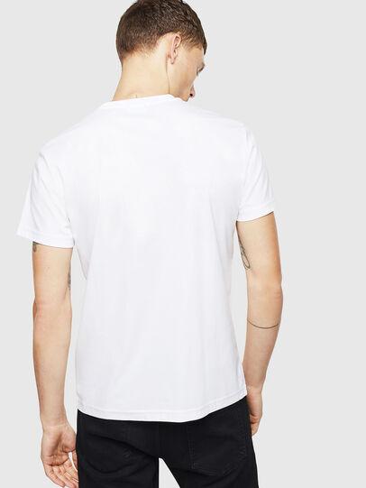 Diesel - T-DIEGO-J8, White - T-Shirts - Image 3