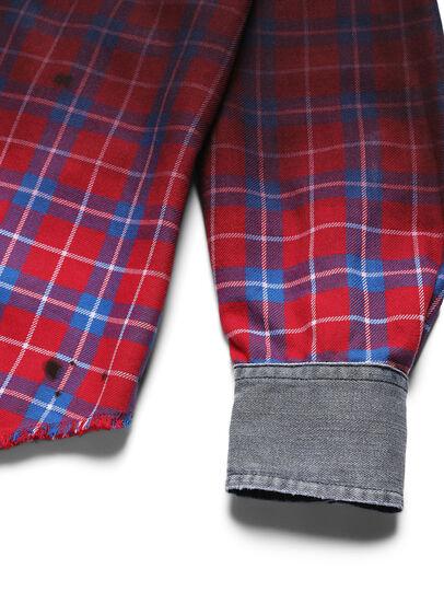 Diesel - D-DEEPCHECK-B, Red - T-Shirts - Image 3