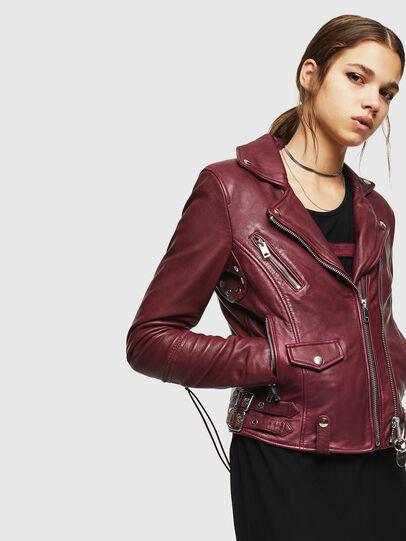 Diesel - L-SINYA-A,  - Leather jackets - Image 5