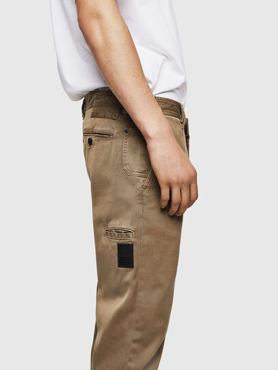 Diesel - P-JARED, Beige - Pants - Image 3