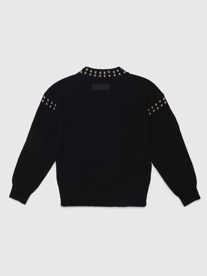 Diesel - KRIPX, Black - Knitwear - Image 2