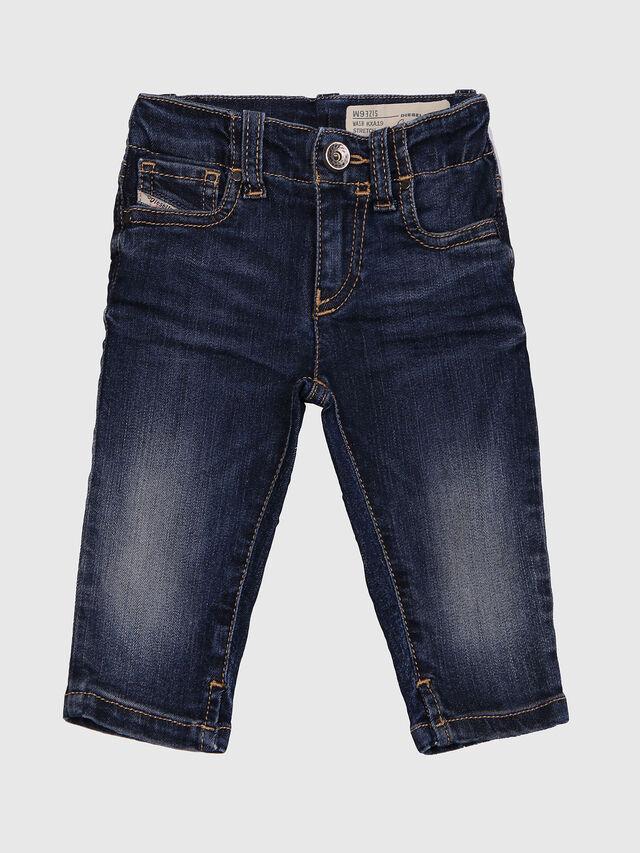 Diesel - GRUPEEN-B, Dark Blue - Jeans - Image 1