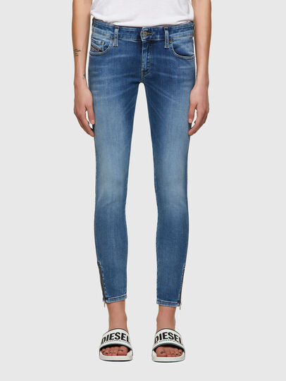 Diesel - Slandy Low 069ST, Light Blue - Jeans - Image 1