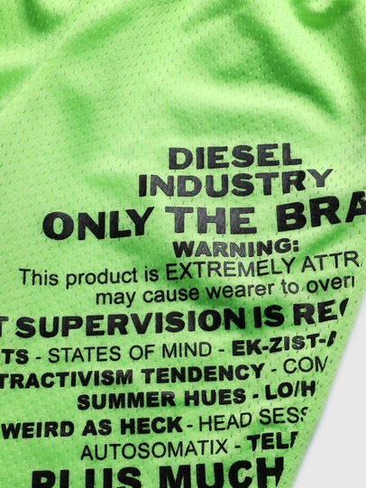 Diesel - PFRAKLE, Green Fluo - Shorts - Image 3