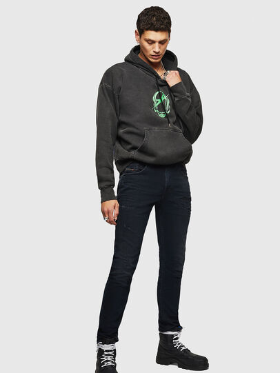 Diesel - Thommer 069GM, Black/Dark grey - Jeans - Image 7