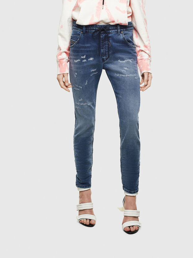 Krailey JoggJeans 069LW, Dark Blue - Jeans