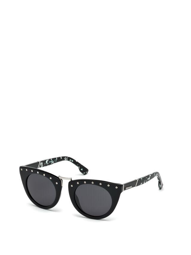 Diesel - DL0211, Black - Sunglasses - Image 4