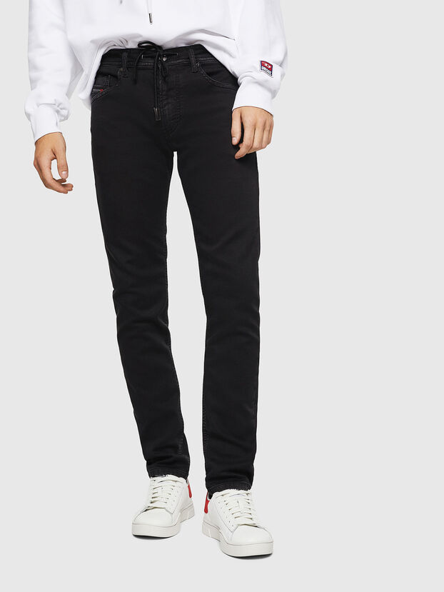 Thommer JoggJeans 0687Z, Black/Dark grey - Jeans