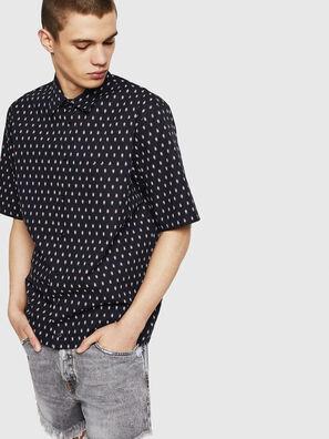 S-FRY-SKULL, Black - Shirts