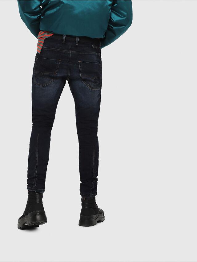 Diesel - Krooley JoggJeans 069DQ, Dark Blue - Jeans - Image 2