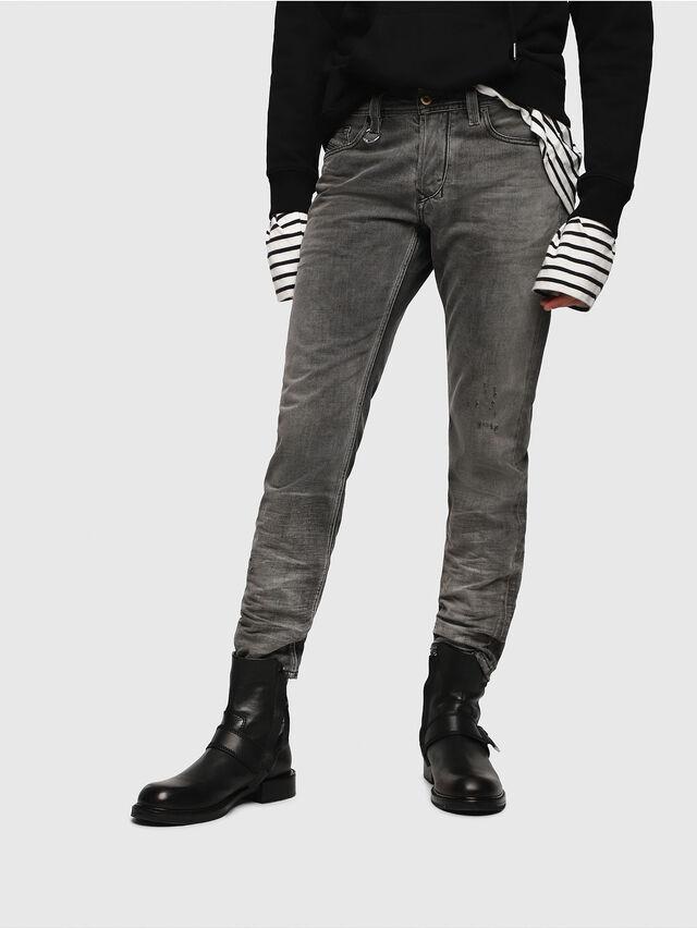 Diesel - Larkee-Beex 088AF, Black/Dark grey - Jeans - Image 1