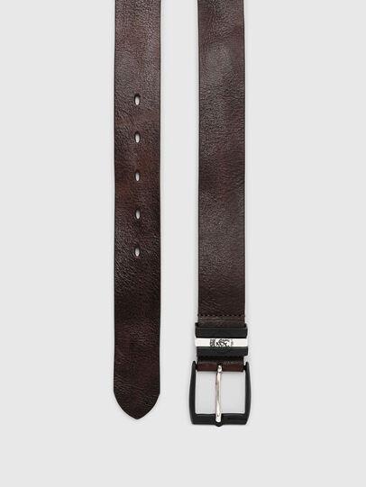 Diesel - B-HIDDEN, Dark Brown - Belts - Image 3