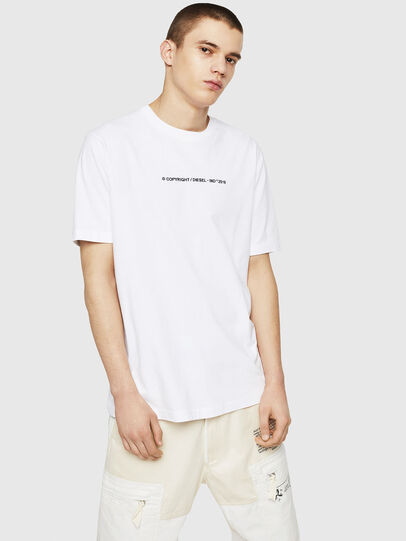 Diesel - T-JUST-COPY, White - T-Shirts - Image 4