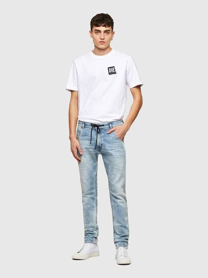 Diesel - Krooley JoggJeans® 069UX, Light Blue - Jeans - Image 5