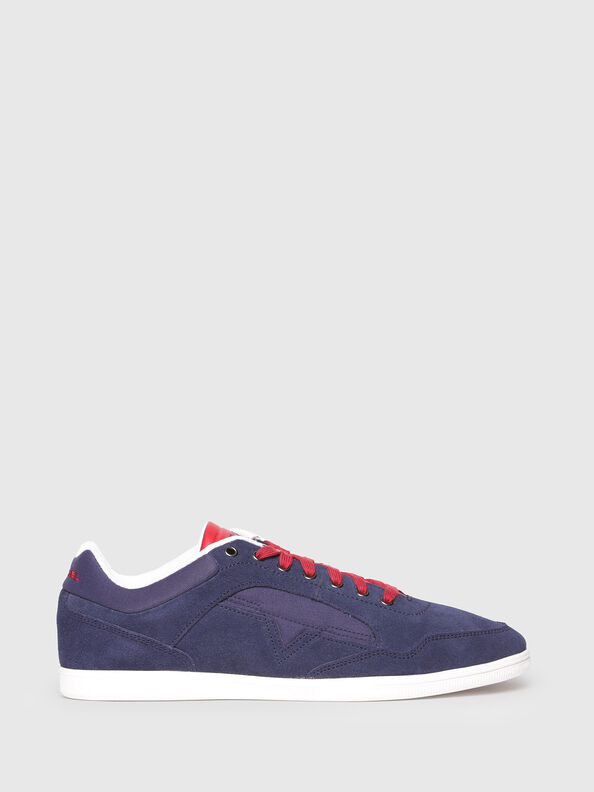 S-HAPPY LOW, Navy Blue - Sneakers