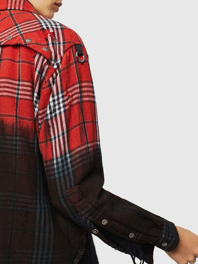 Diesel - C-SUPER-G, Red/Black - Shirts - Image 5