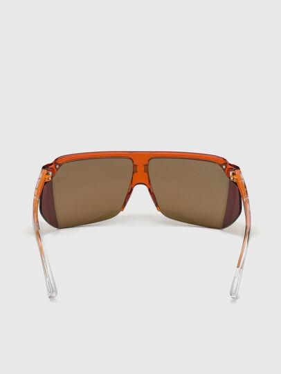 Diesel - DL0319, Orange - Sunglasses - Image 4