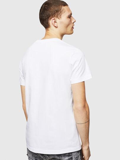 Diesel - T-DIEGO-POCKET-B1, White - T-Shirts - Image 2
