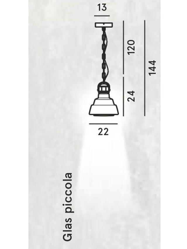 Diesel - GLAS PICCOLA, Silver - Hang Lighting - Image 2