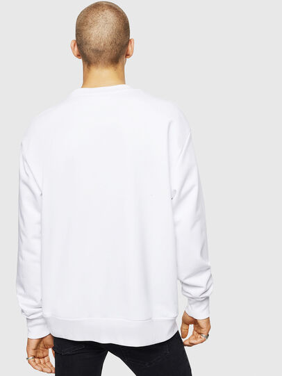 Diesel - S-CREW-DIVISION-D, White - Sweaters - Image 2