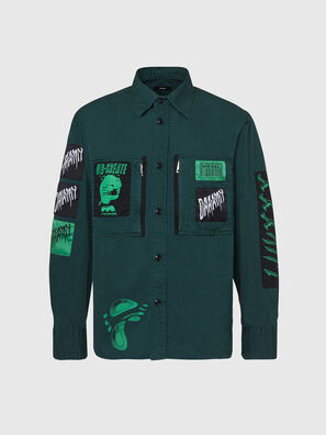 S-MARCUS, Dark Green - Shirts