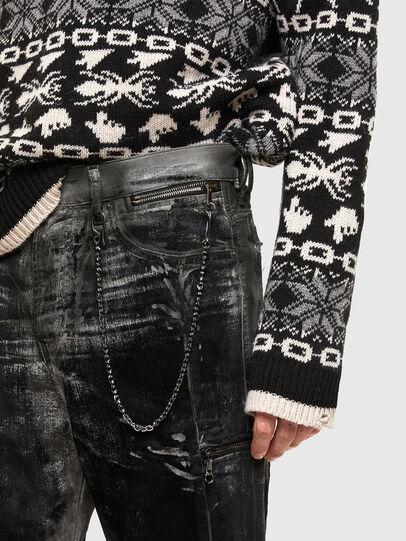 Diesel - TYPE-2022-NE, Black/Dark grey - Jeans - Image 4