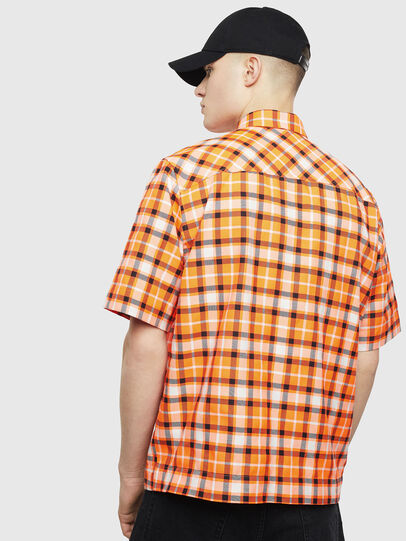Diesel - S-ATWOOD-A, Orange - Shirts - Image 2