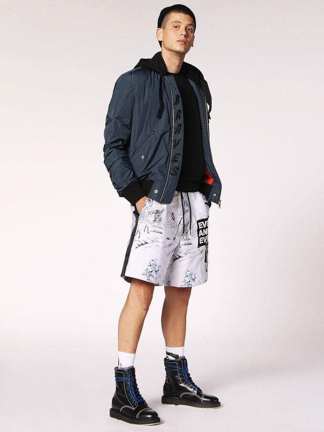 Diesel P-GROUND, White - Shorts - Image 6