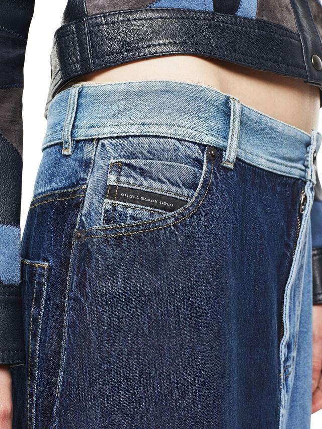 Diesel - ODETTE, Blue Jeans - Skirts - Image 6
