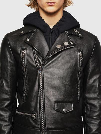 Diesel - L-PERF,  - Leather jackets - Image 4