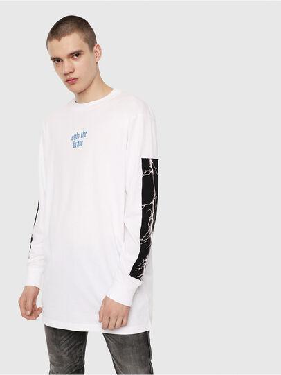 Diesel - T-LUCAS-LS-Y2,  - T-Shirts - Image 4