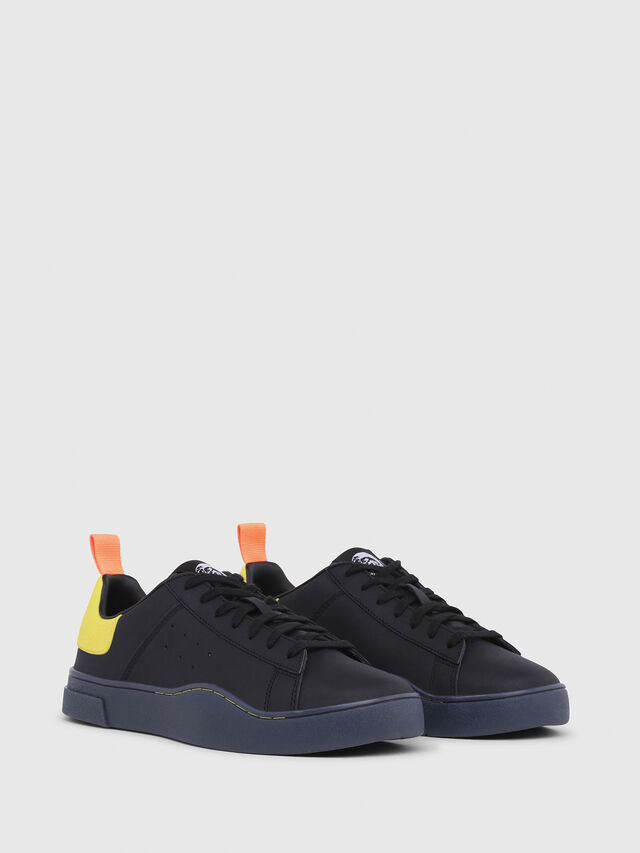 Diesel - S-CLEVER LOW, Black/Yellow - Sneakers - Image 2